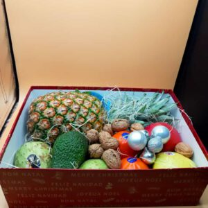 Caja de feliz navidad